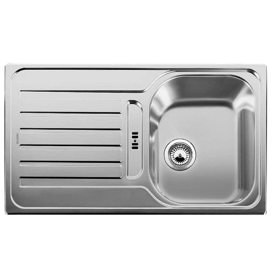 Franke Linen Finish Sinks : Blanco: Lantos 45 S Linen Finish Sink - Kitchen Sinks & Taps
