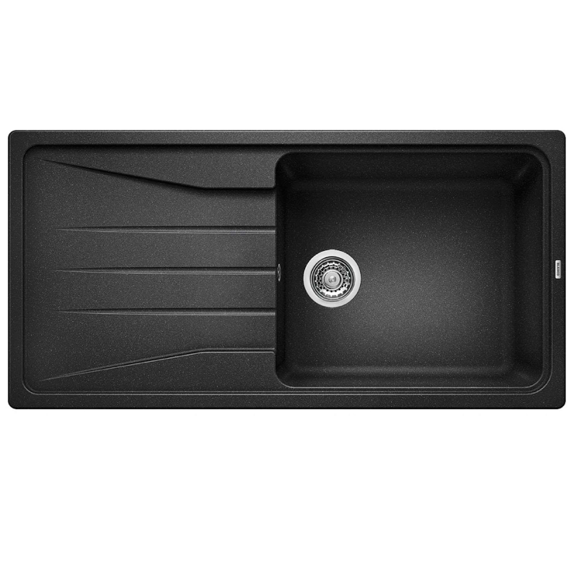 Blanco Silgranit Anthracite Sink : Blanco: Sona XL 6 S Anthracite Silgranit sink - Kitchen Sinks & Taps