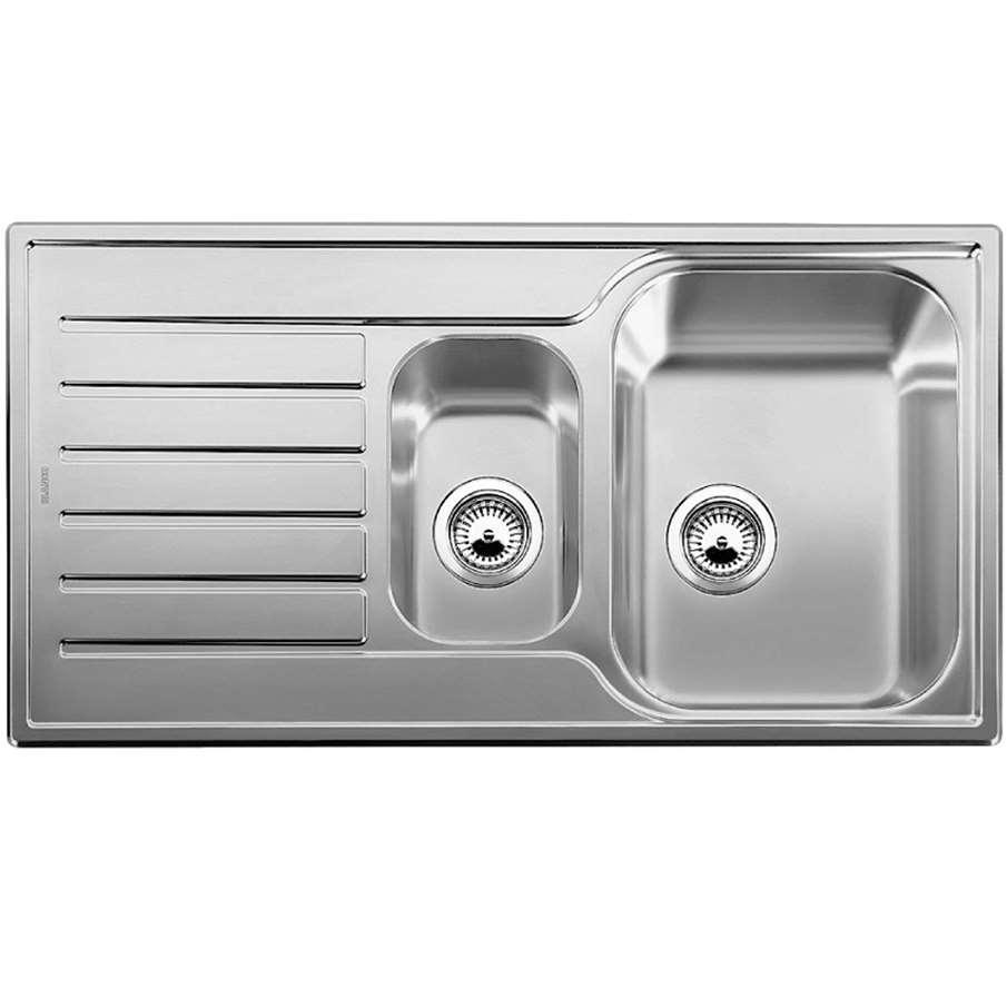Blanco Lantos 6 S Linen Finish Sink Kitchen Sinks Amp Taps