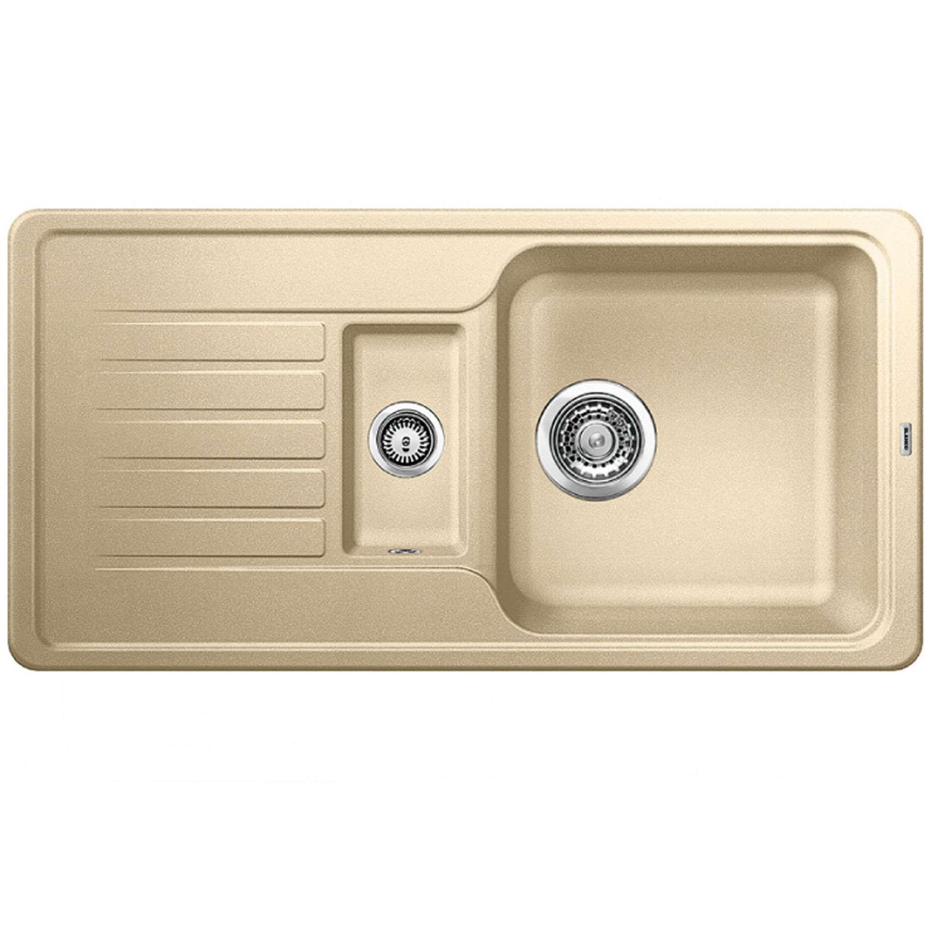 Blanco favos 6 s champagne silgranit sink kitchen sinks for German kitchen sink brands