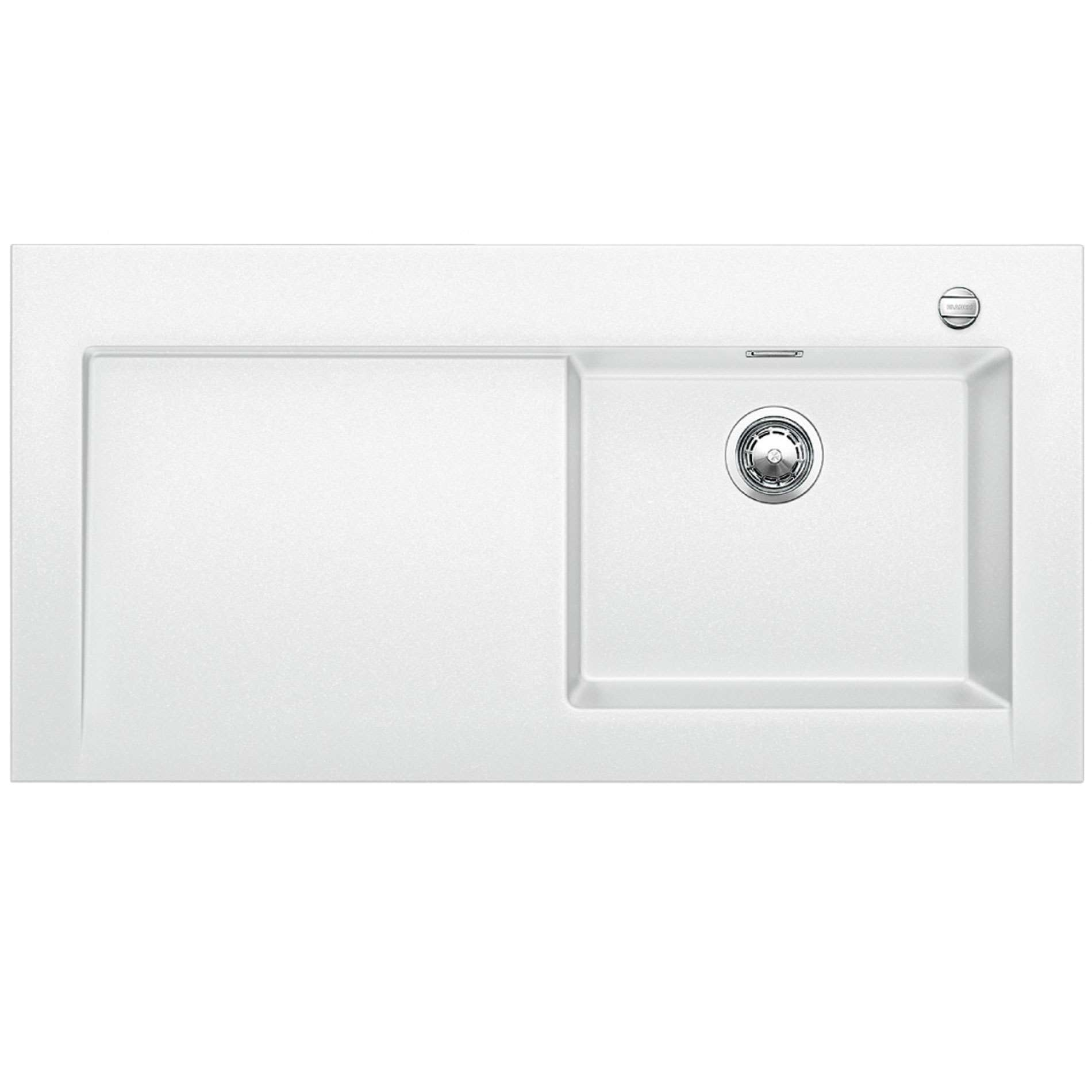 Blanco Silgranit White : Blanco: Modex M-60 White Silgranit Sink - Kitchen Sinks & Taps