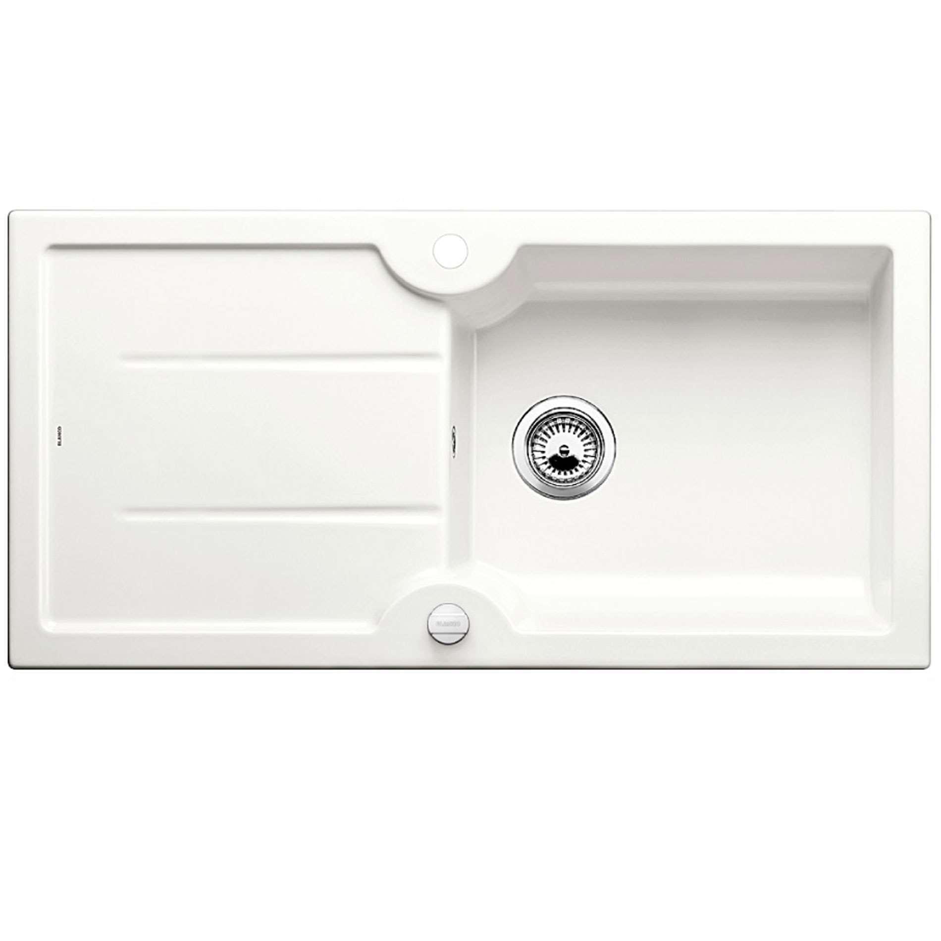 Blanco Idessa Xl 6 S Crystal White Ceramic Sink Kitchen