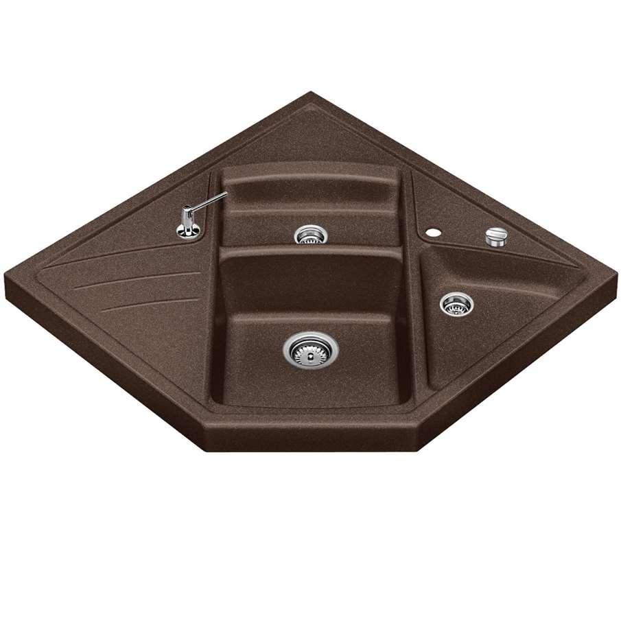 blanco modus m 90 coffee silgranit sink kitchen sinks. Black Bedroom Furniture Sets. Home Design Ideas