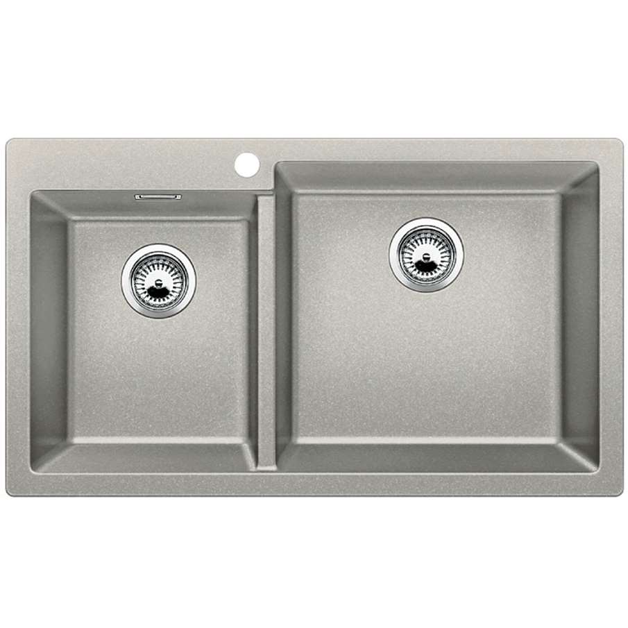 blanco pleon 9 pearl grey silgranit sink kitchen sinks. Black Bedroom Furniture Sets. Home Design Ideas