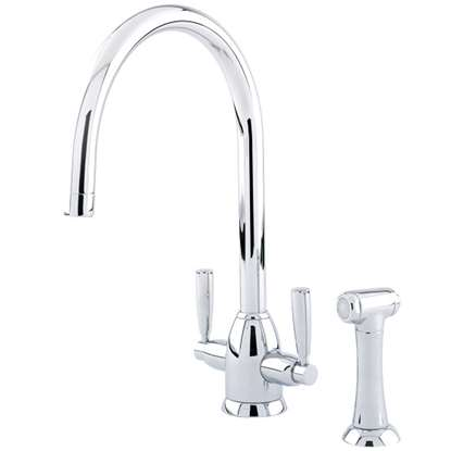 Picture of Perrin & Rowe: Oberon 4866 Chrome Tap