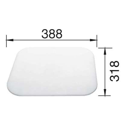 Picture of Blanco: White Food Board BL137876