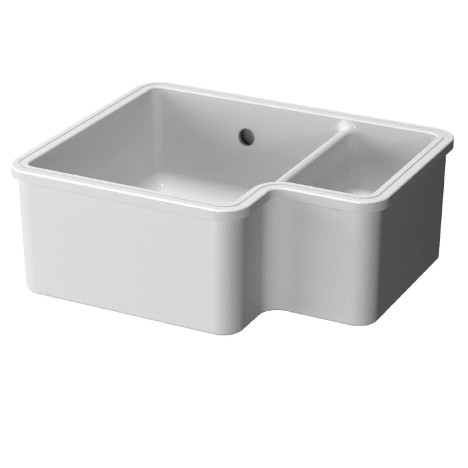 Caple: Ettra 150 Ceramic Sink - Kitchen Sinks & Taps