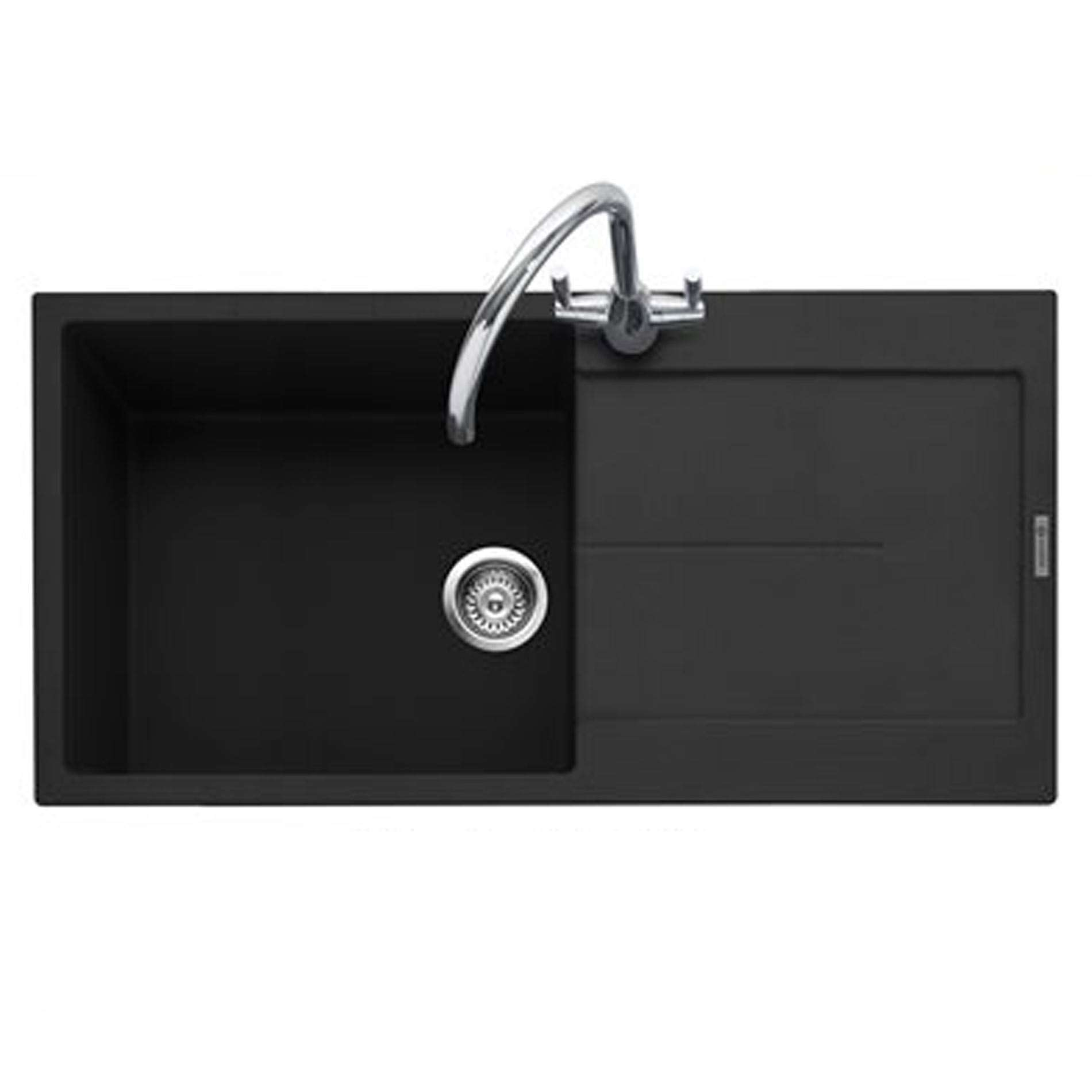 Picture of Canis 100 Anthracite Granite Sink