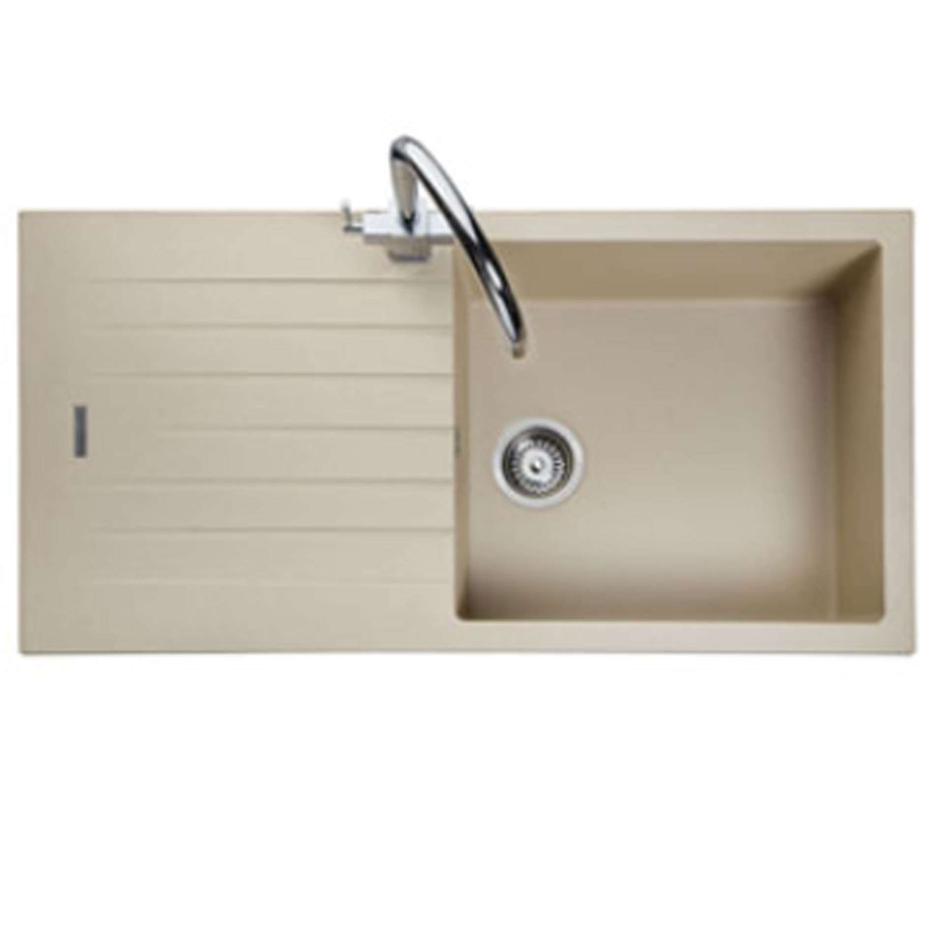 Stone Kitchen Sinks Uk : ... : Andesite AND1051 Stone Igneous Sink - Kitchen Sinks & Taps