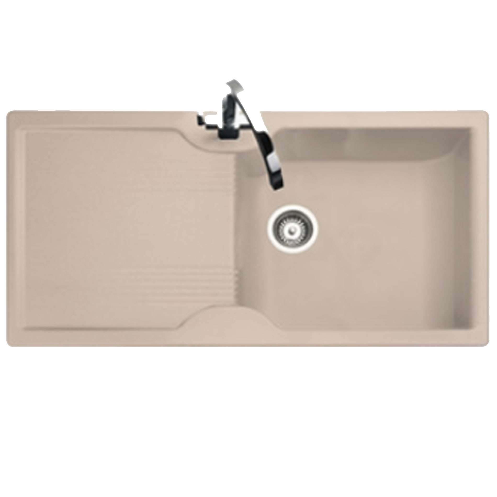 Rangemaster Lunar Lu9851 Oatmeal Neo Rock Sink Kitchen