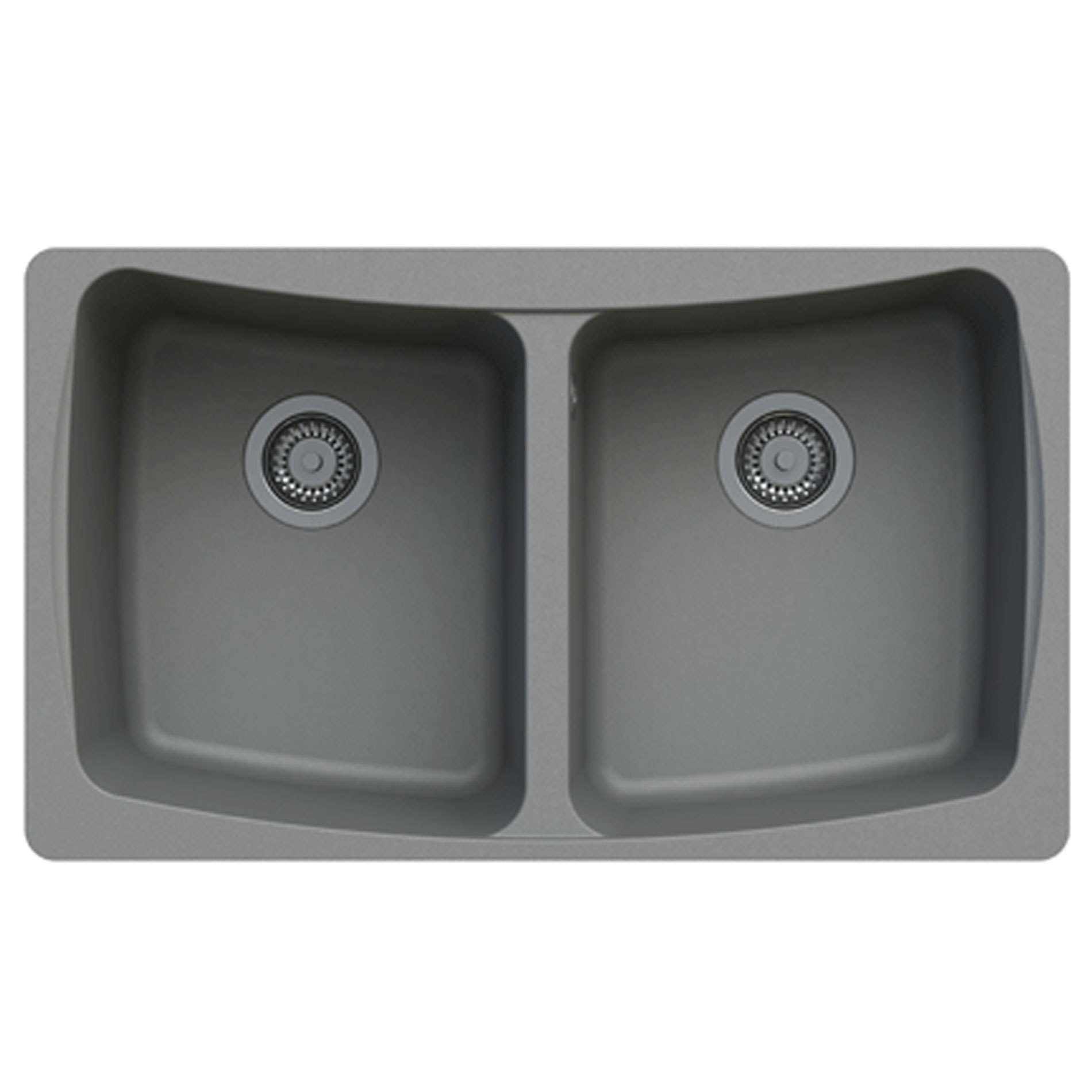 ... Malham 2.0 Bowl Graphite Grey ROK Granite Sink - Kitchen Sinks & Taps