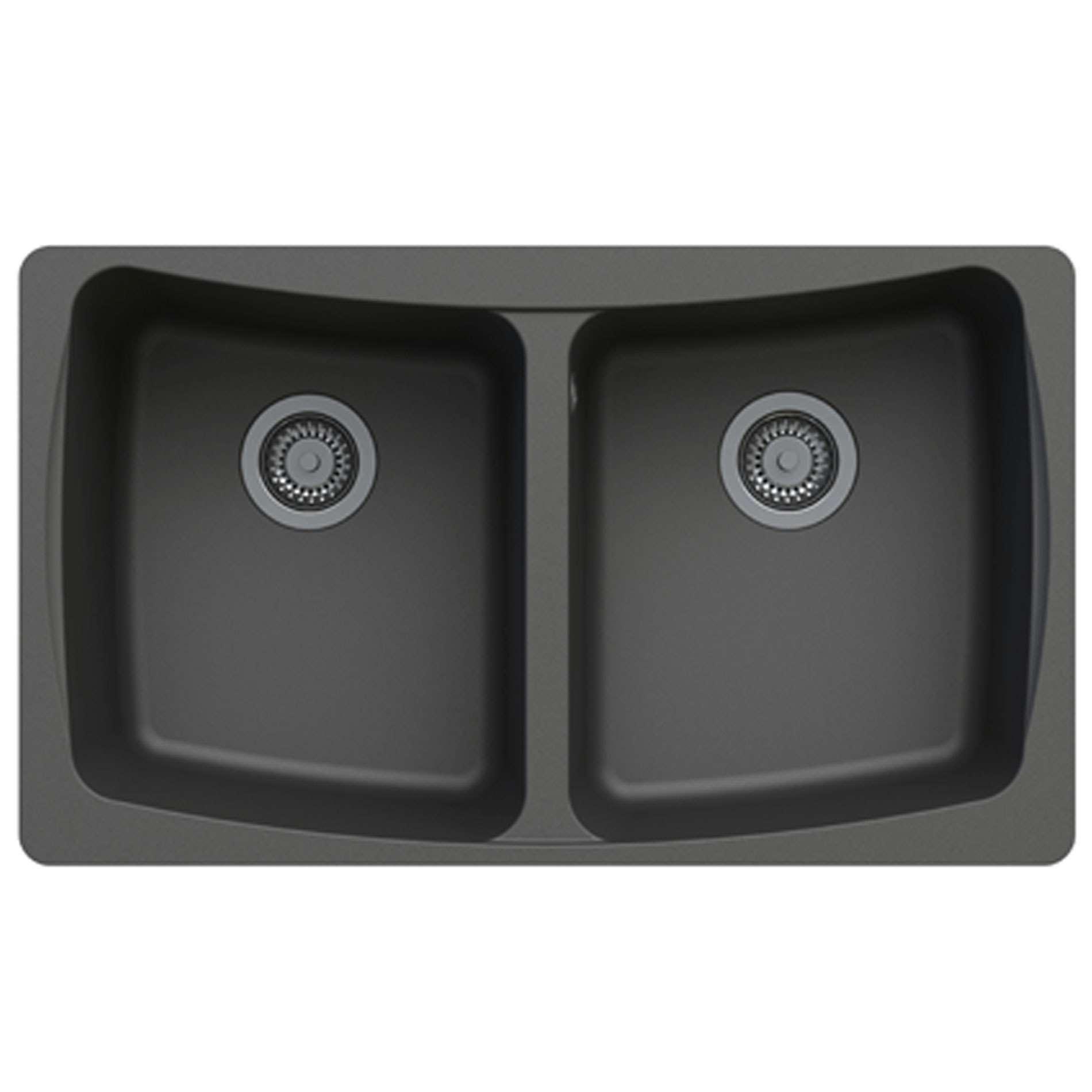 Rok Granite Sinks : ... Malham 2.0 Bowl Volcano Black ROK Granite Sink - Kitchen Sinks & Taps