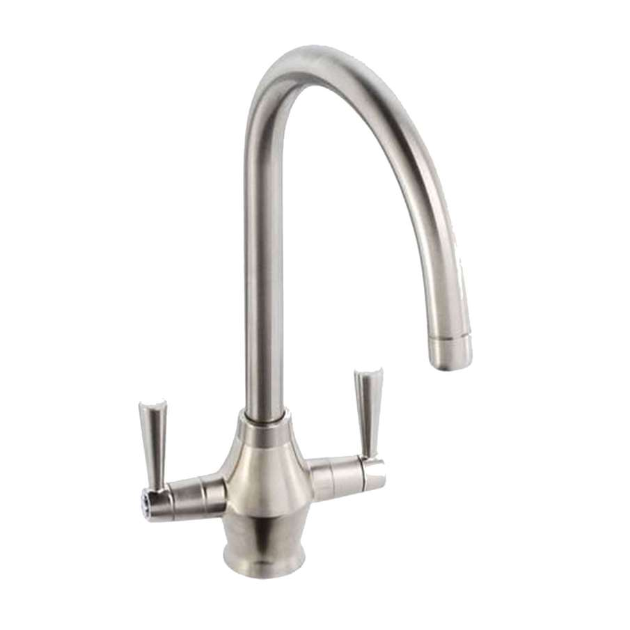 Abode Astral Brushed Nickel Tap At1157 Kitchen Sinks Amp Taps