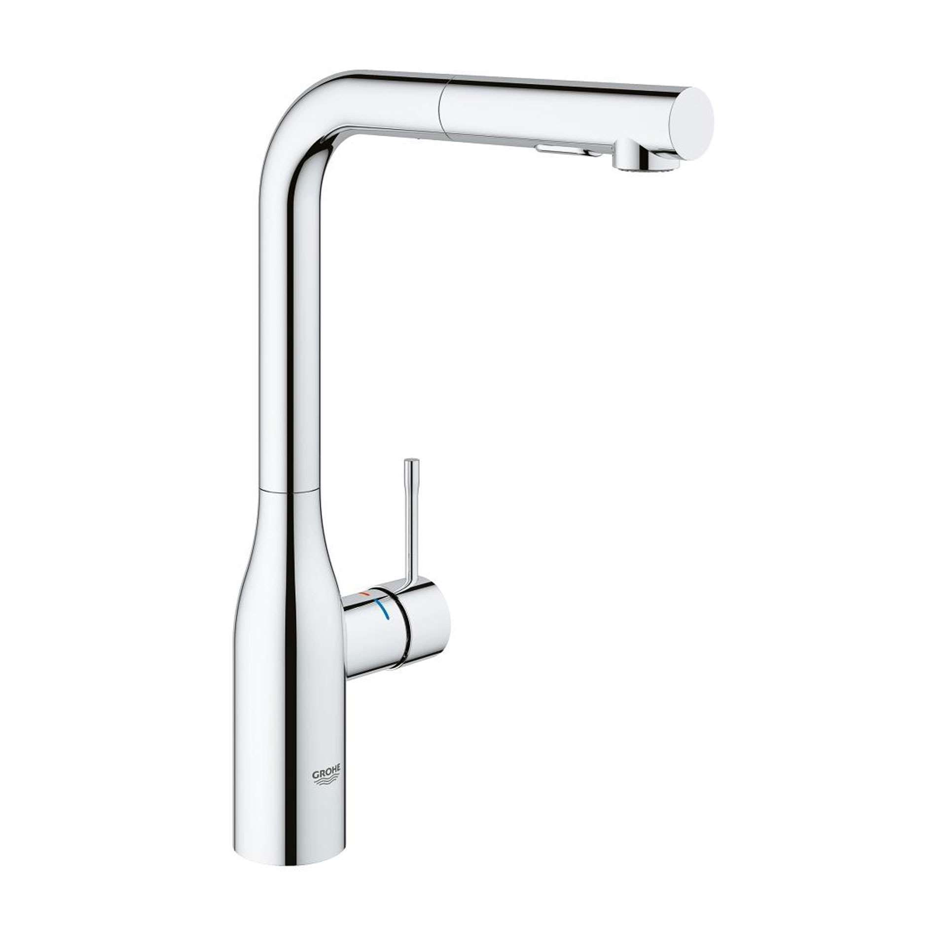 grohe essence 30270000 pull out chrome tap kitchen sinks taps. Black Bedroom Furniture Sets. Home Design Ideas