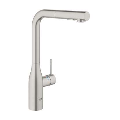 Picture of Grohe: Essence 30270DC0 Pull-Out Supersteel Tap