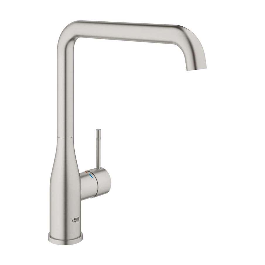 grohe essence 30269dc0 supersteel tap kitchen sinks taps. Black Bedroom Furniture Sets. Home Design Ideas