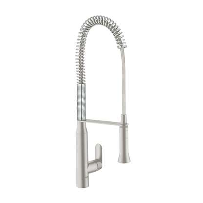 Picture of Grohe: K7 Professional 32950DCO Brushed Steel Tap
