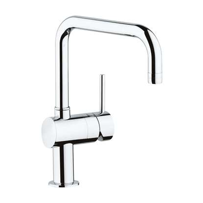 Picture of Grohe: Minta 32488000 Single Lever Chrome Tap