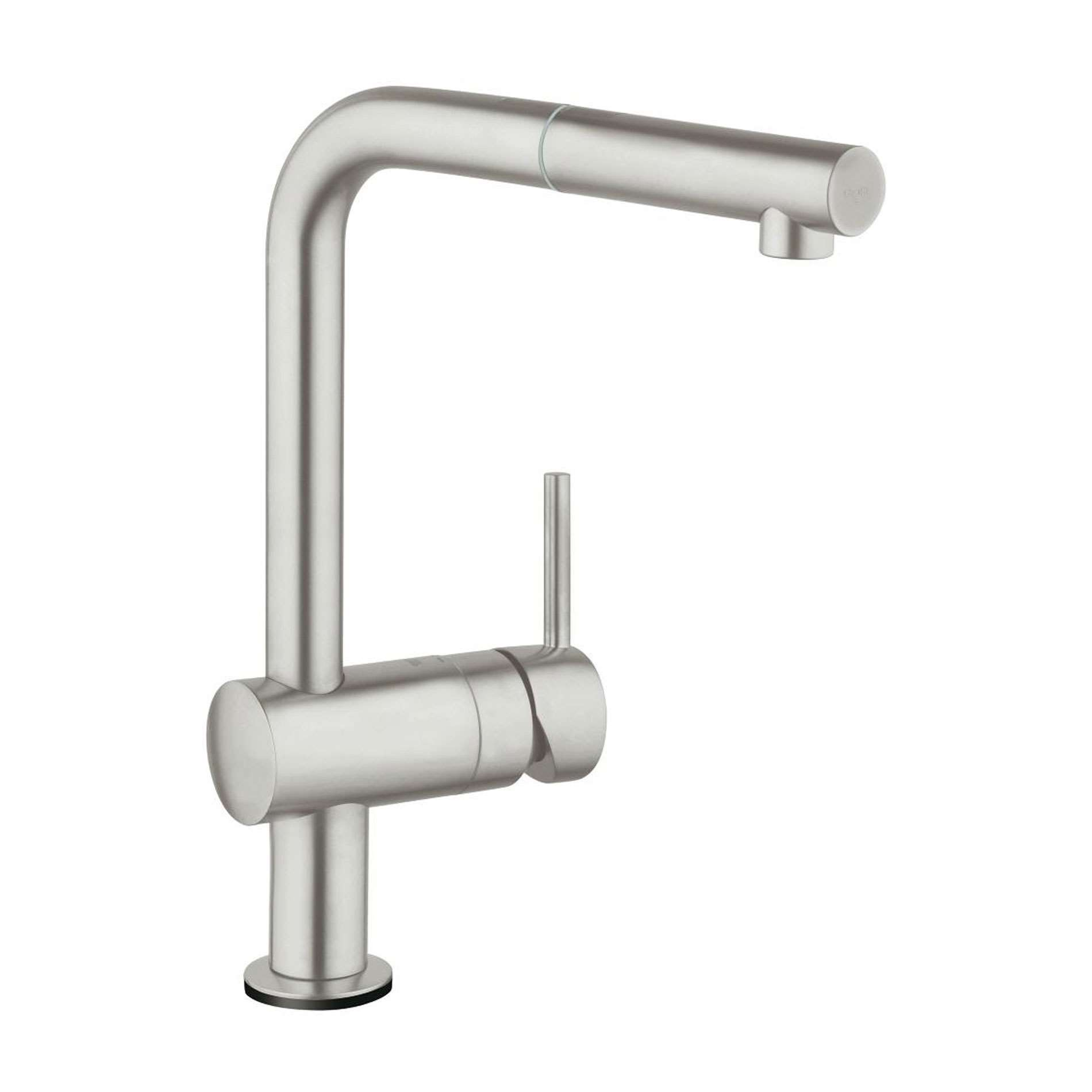 Grohe Minta Touch 31360dc1 Super Steel Tap Kitchen Sinks Taps