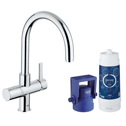 Picture of Grohe: Blue 31087001 Chrome Tap