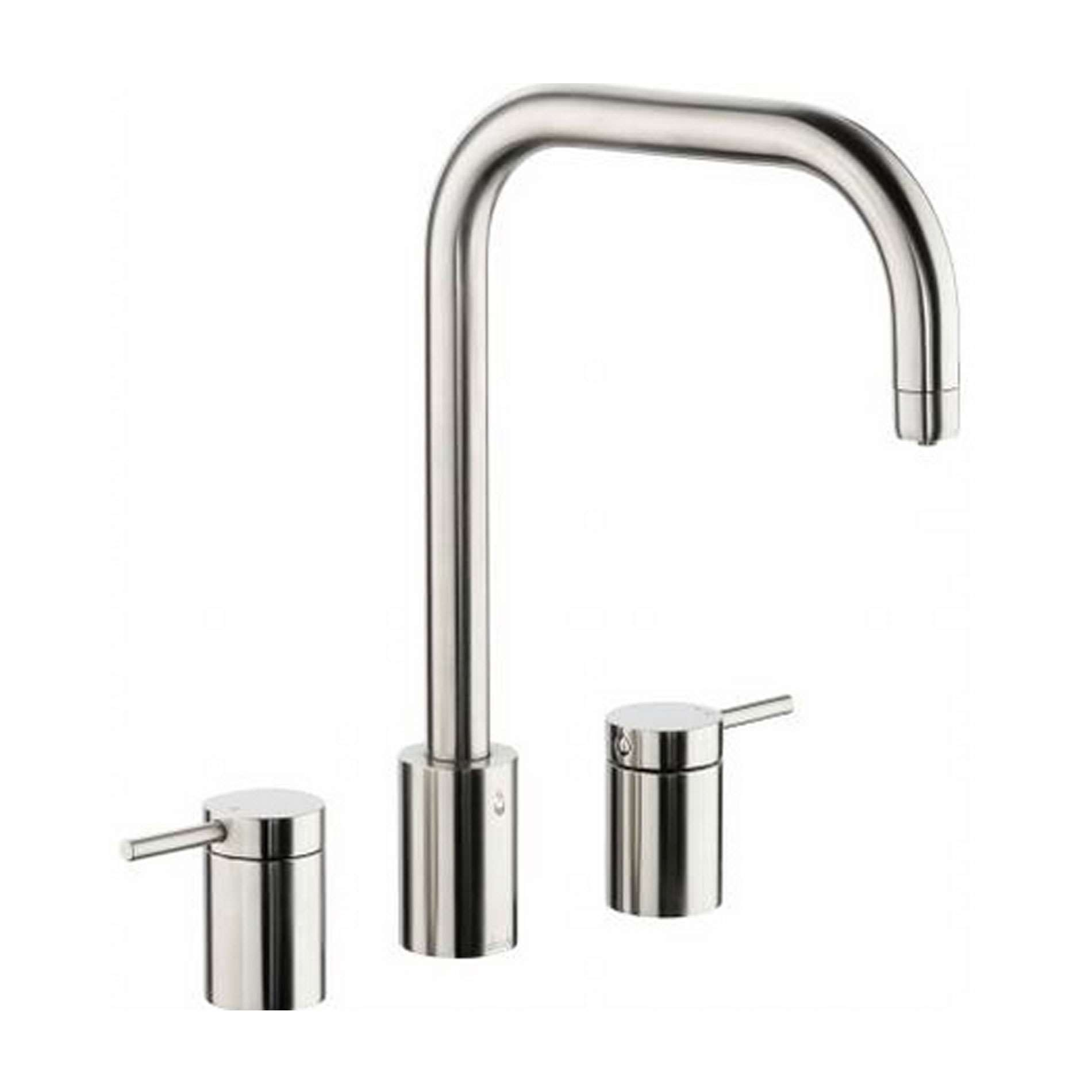 Picture of Pronteau Project Three Part PT1010 Brushed Nickel Tap