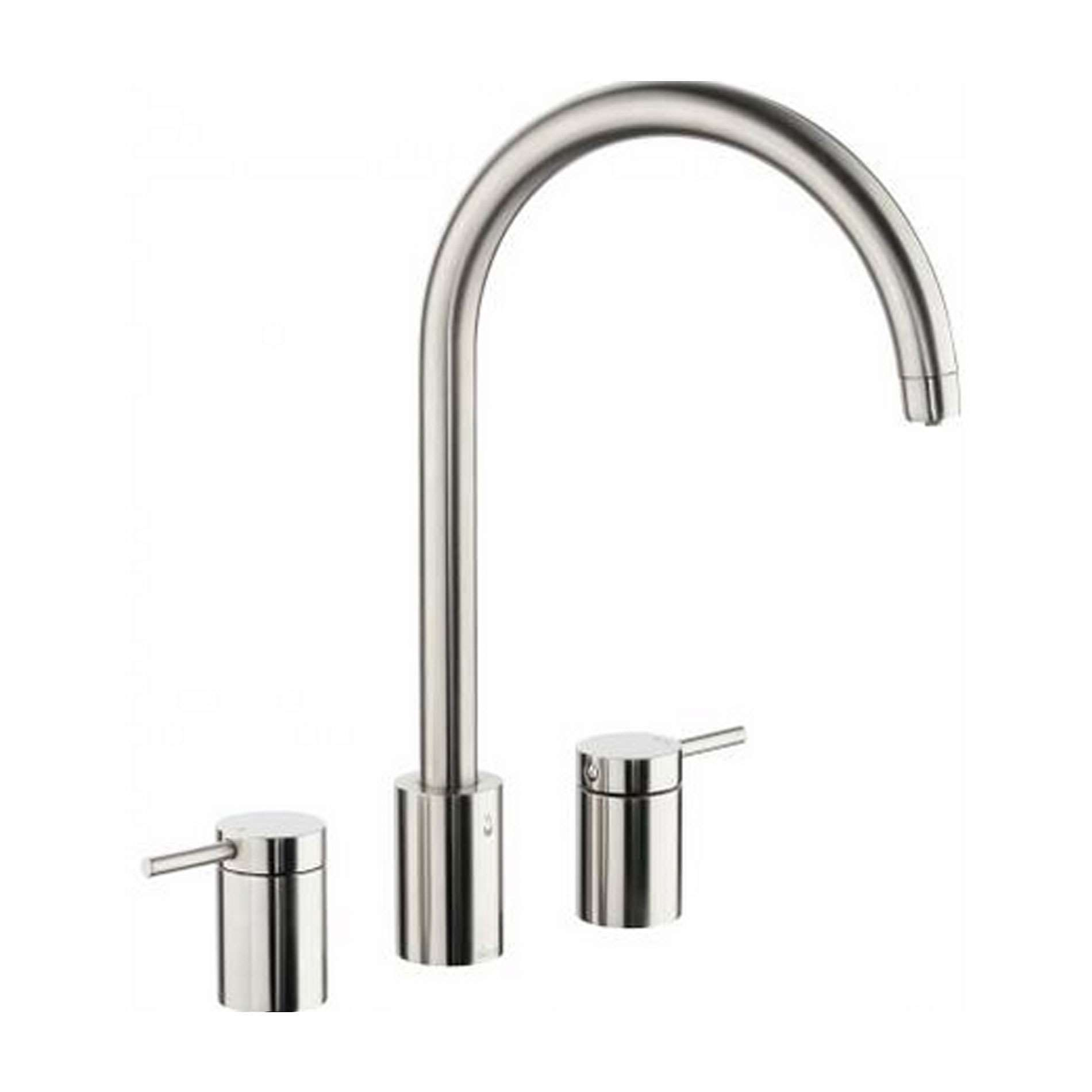 Picture of Pronteau Profile Three Part PT1008 Brushed Nickel Tap
