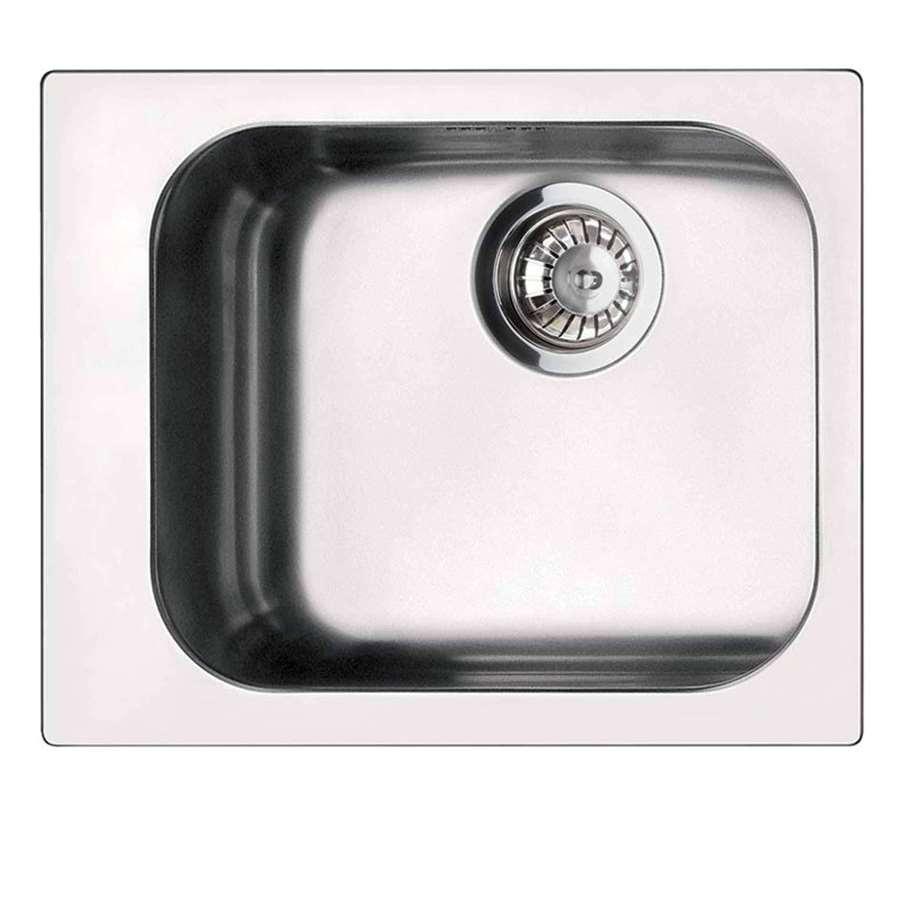 Blanco Vs Franke : Smeg: VS34-P3 Alba Single Bowl Inset Sink - Kitchen Sinks & Taps