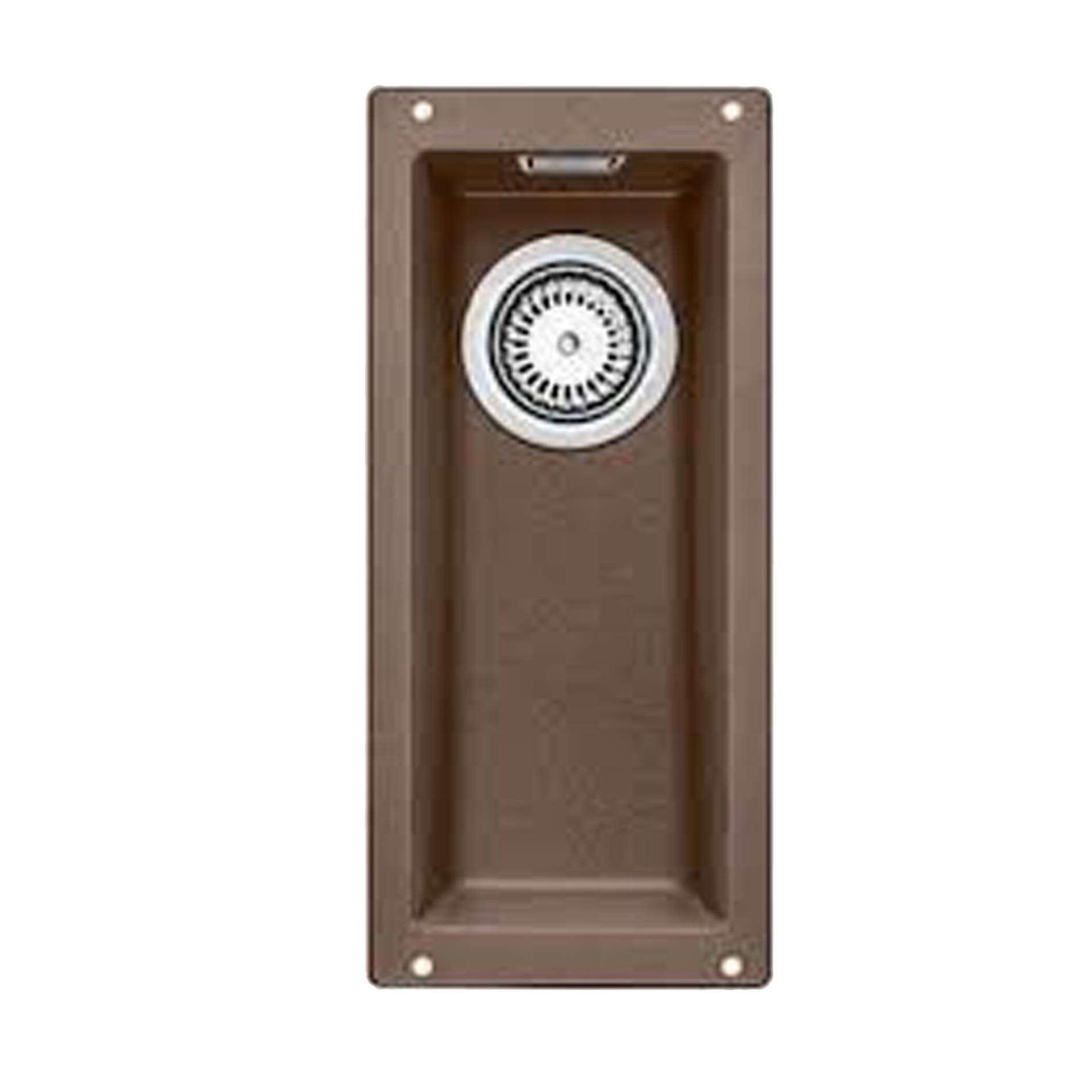 Blanco: Subline 160-U Nutmeg Silgranit Sink - Kitchen Sinks & Taps