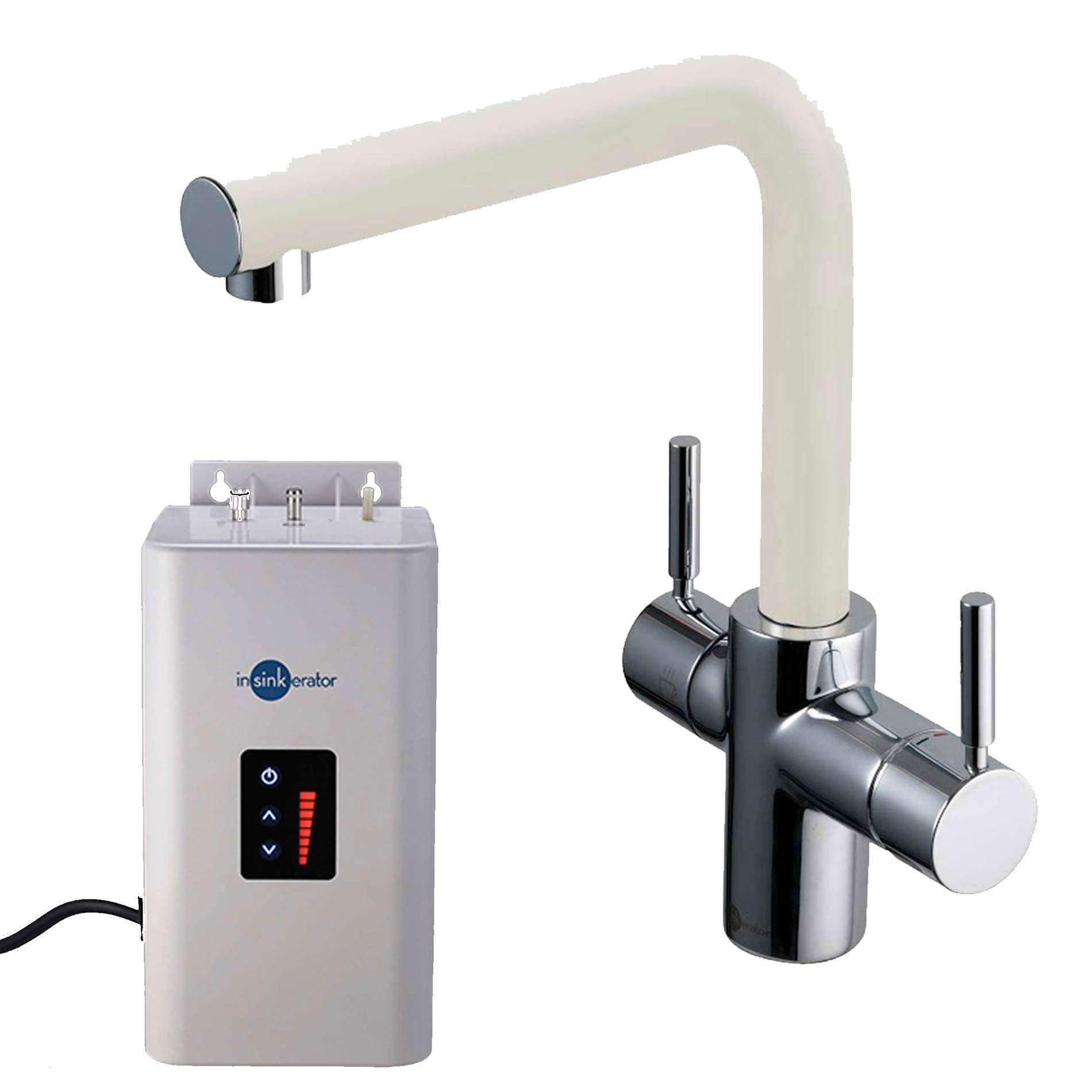 Ordinaire Picture Of 3N1 Pearl White Steaming Hot Water Tap Pack