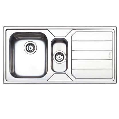 Picture of Clearwater: Linear 1.5 Bowl Stainless Steel Sink