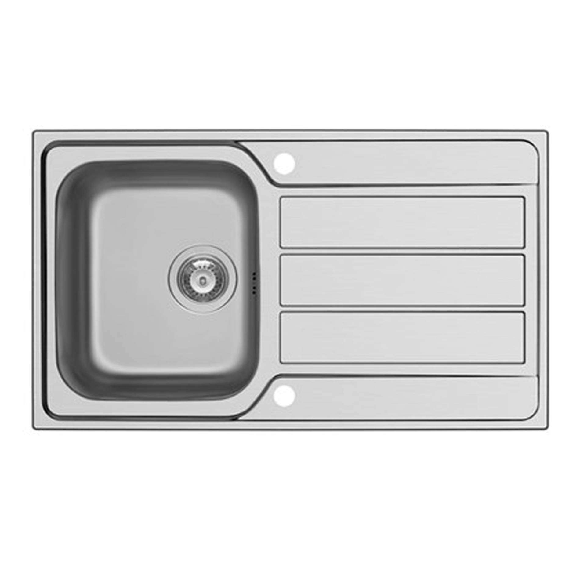 Clearwater: Mistral Single Bowl Stainless Steel Sink - Kitchen Sinks ...