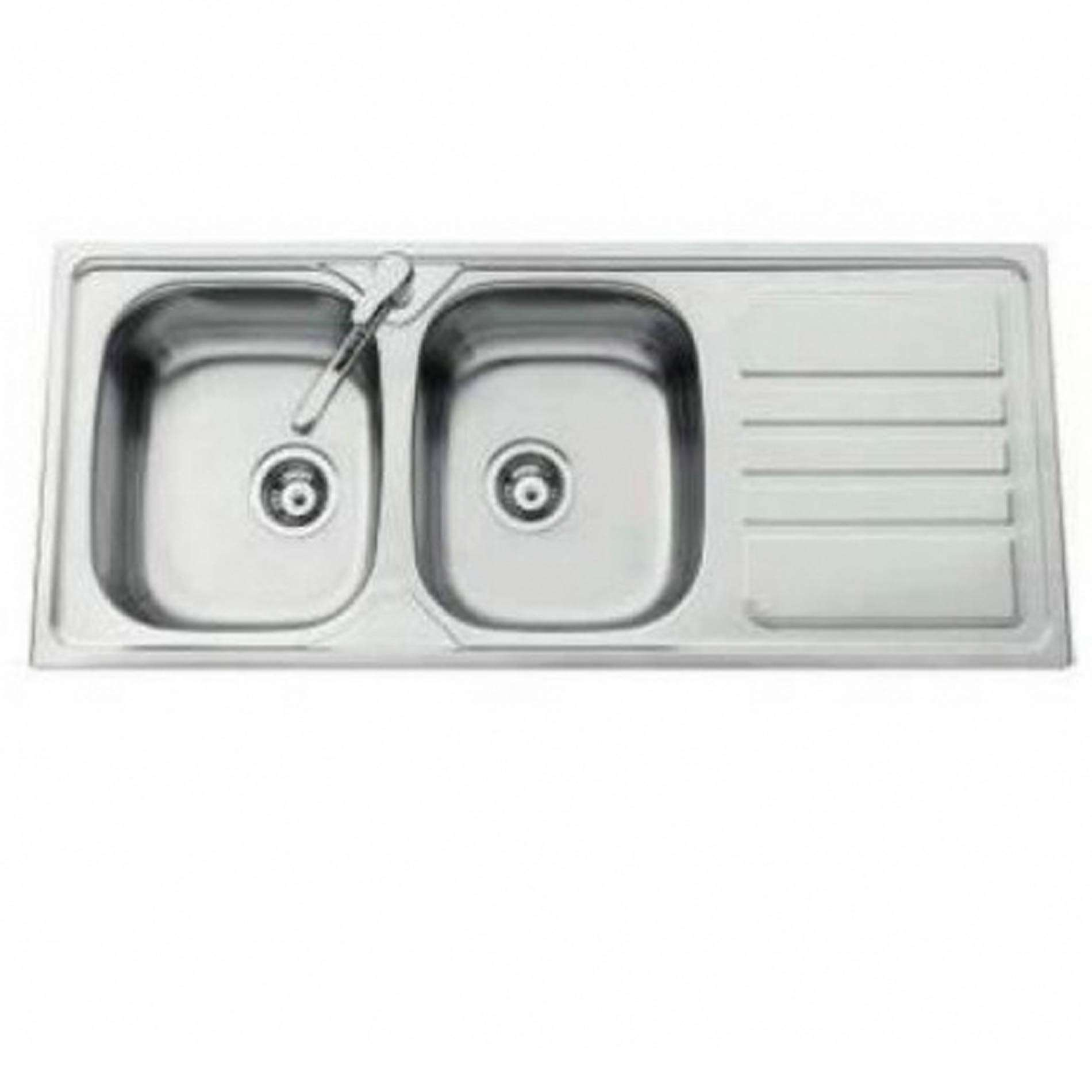 Clearwater Okio Double Bowl Stainless Steel Sink