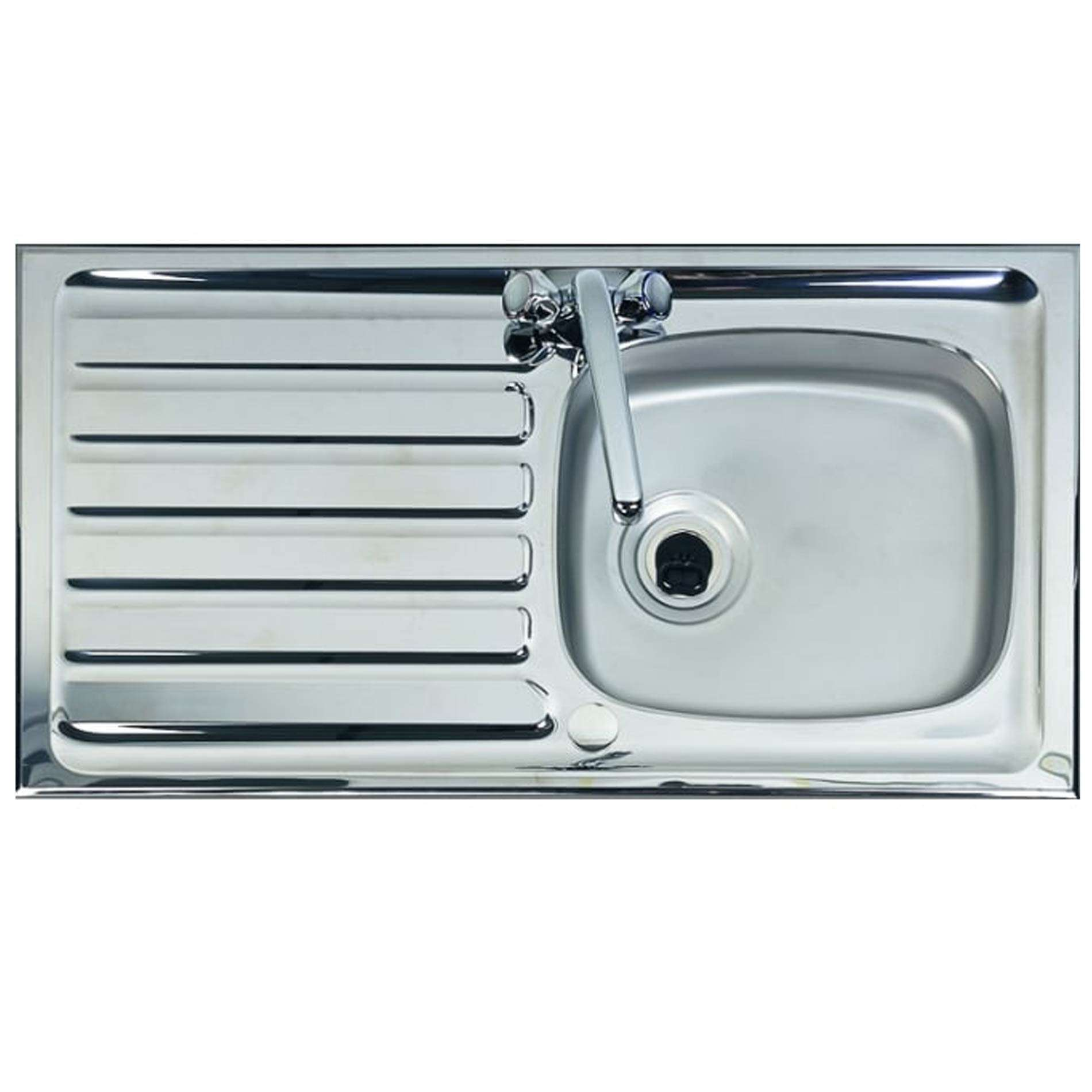 Clearwater: Contract PH940 Single Bowl Stainless Steel Sink ...