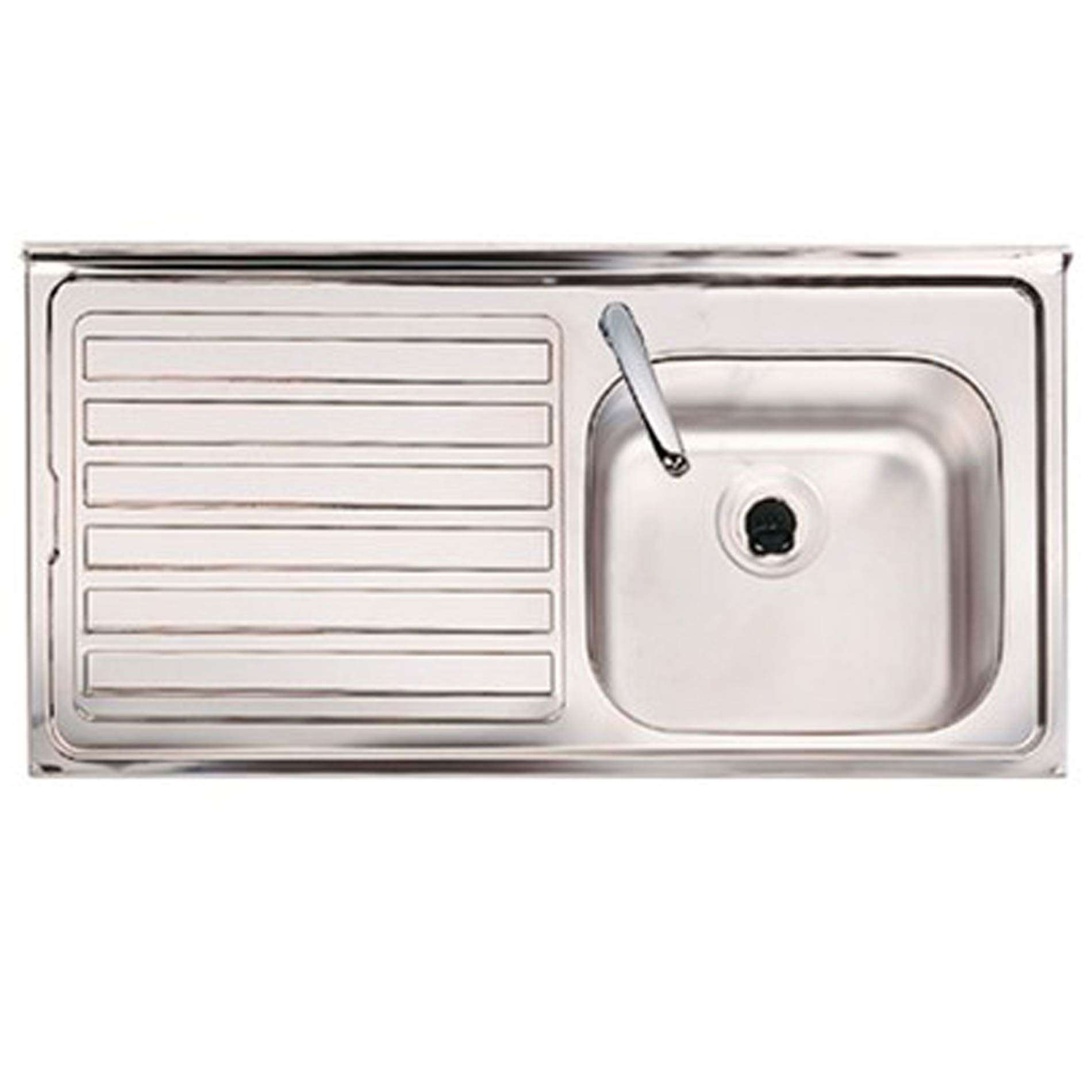 Clearwater: Contract SBSD Single Bowl Stainless Steel Sink - Kitchen ...