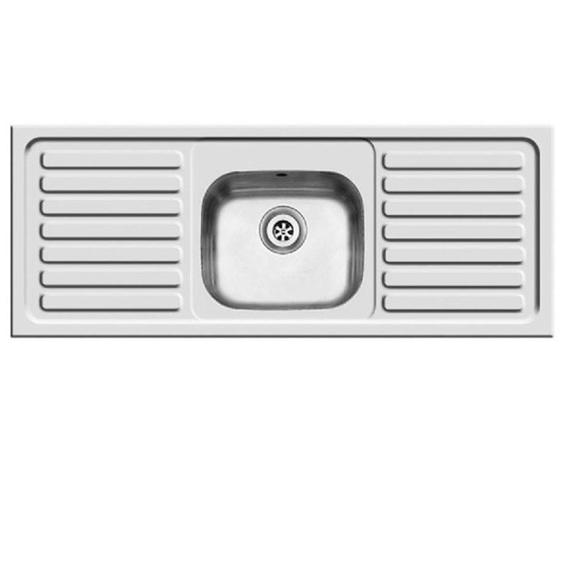 Clearwater: Contract SBDD Single Bowl Stainless Steel Sink - Kitchen ...