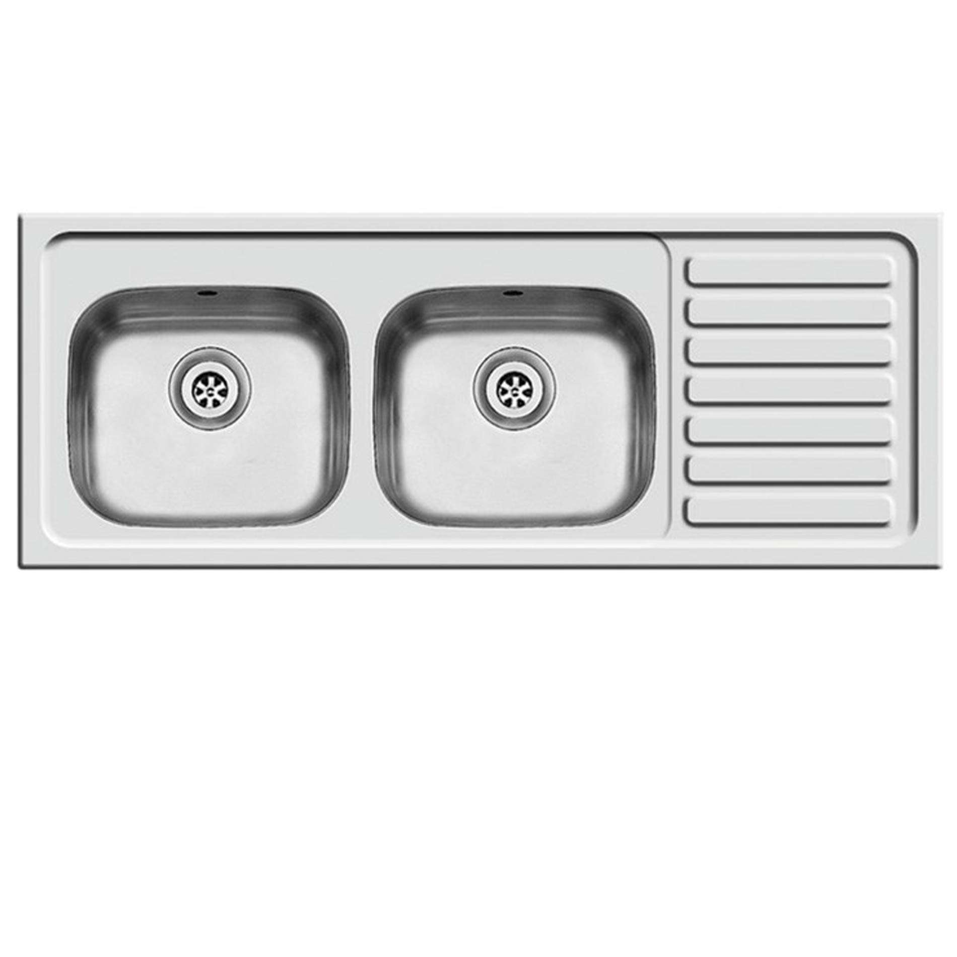 Picture Of Contract DBSD Double Bowl Stainless Steel Sink