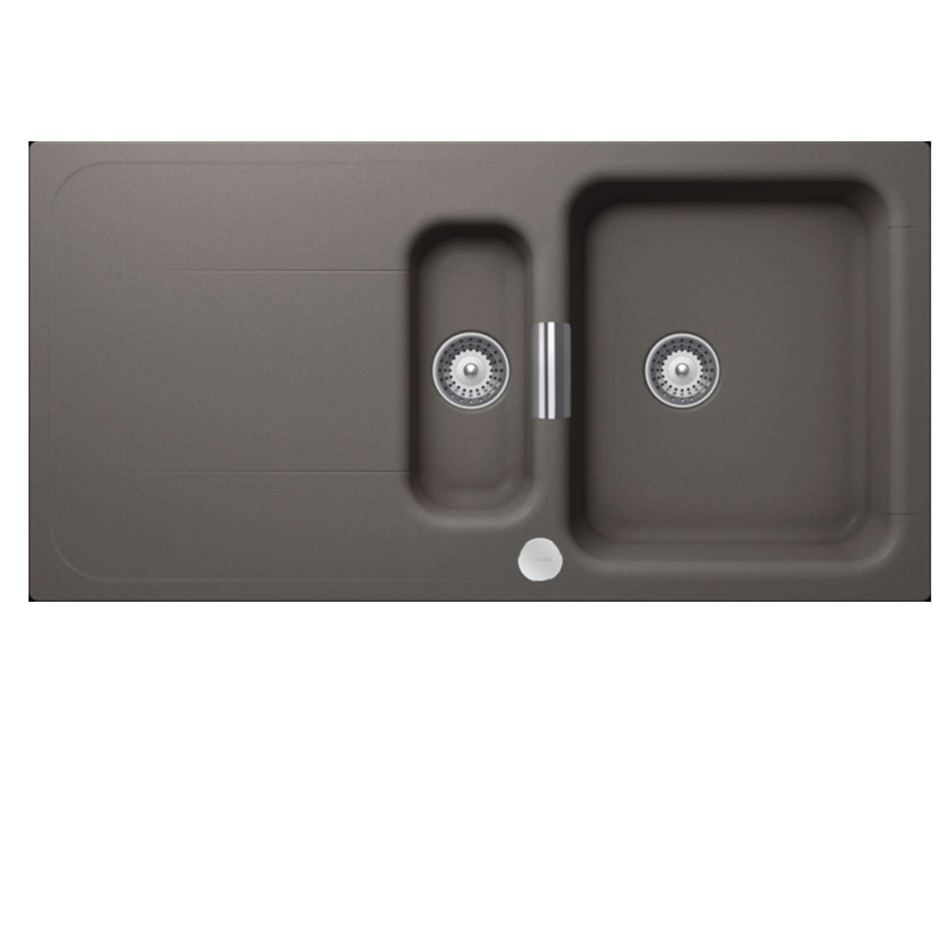 Picture Of Wembley WEM D 150 Silverstone Granite Sink