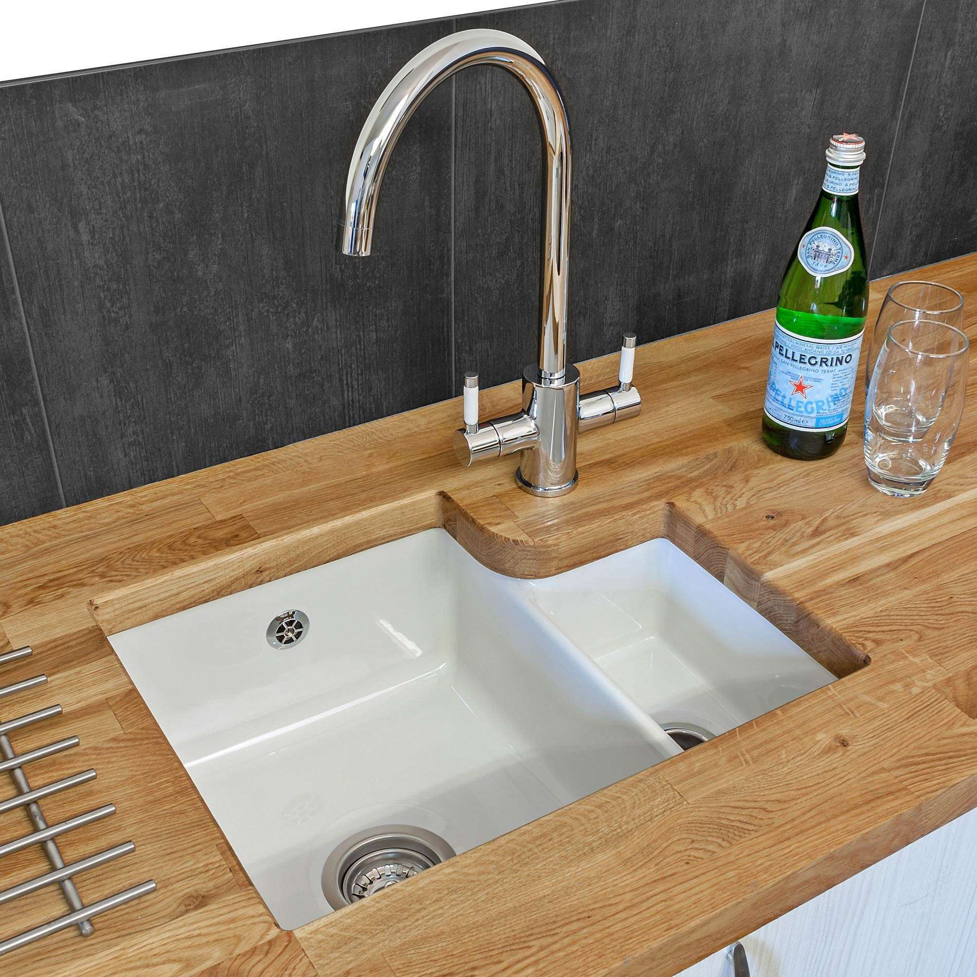 Picture of Tuscany Ceramic Sink and Genesis Tap Pack