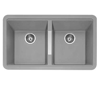 Picture of Caple: Leesti 200 Pebble Grey Granite Sink
