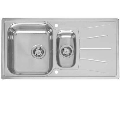 b384332c71 Leisure: Linear Compact LR8001 Stainless Steel Sink - Kitchen Sinks ...