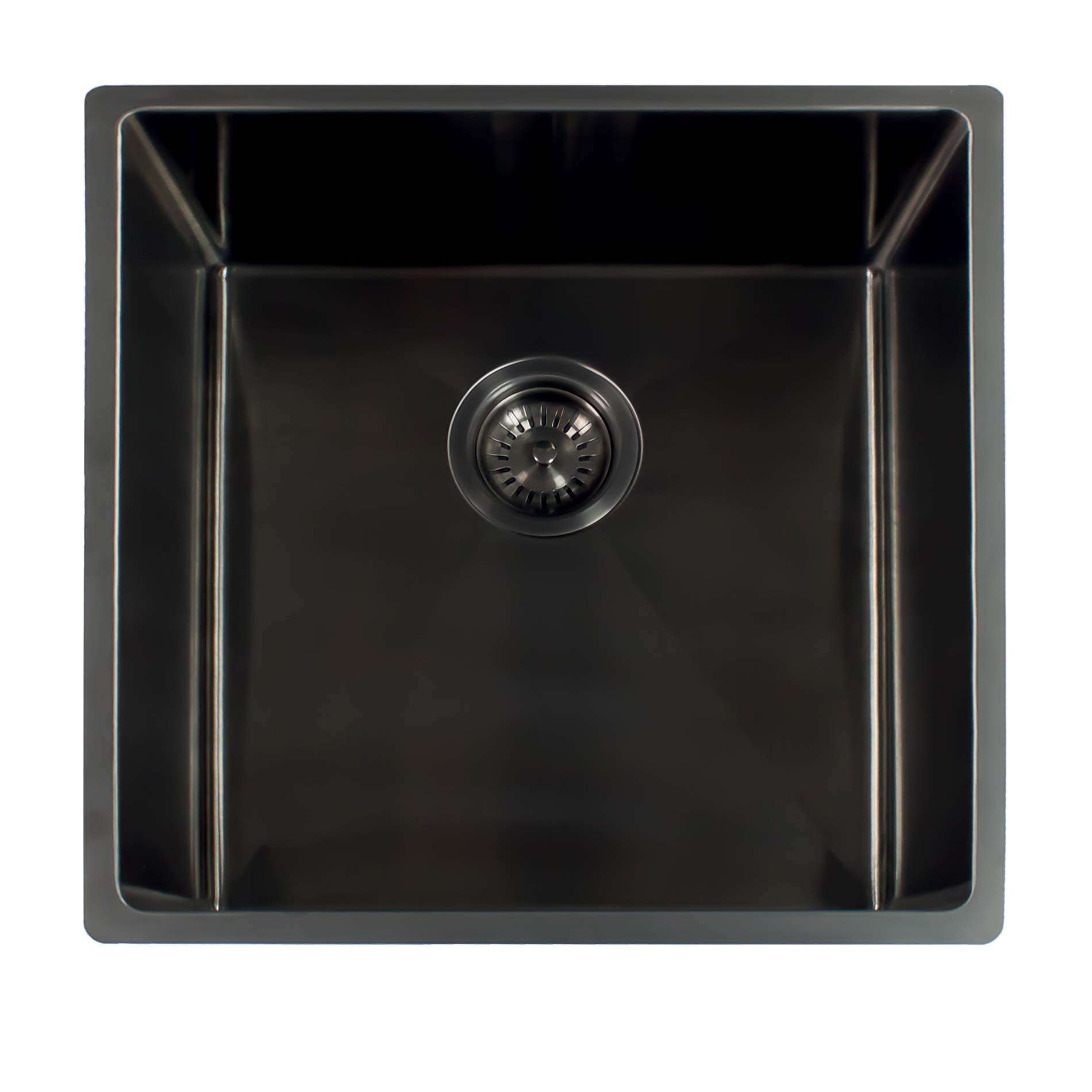 Reginox: Miami 50x40 Gunmetal Sink - Kitchen Sinks & Taps