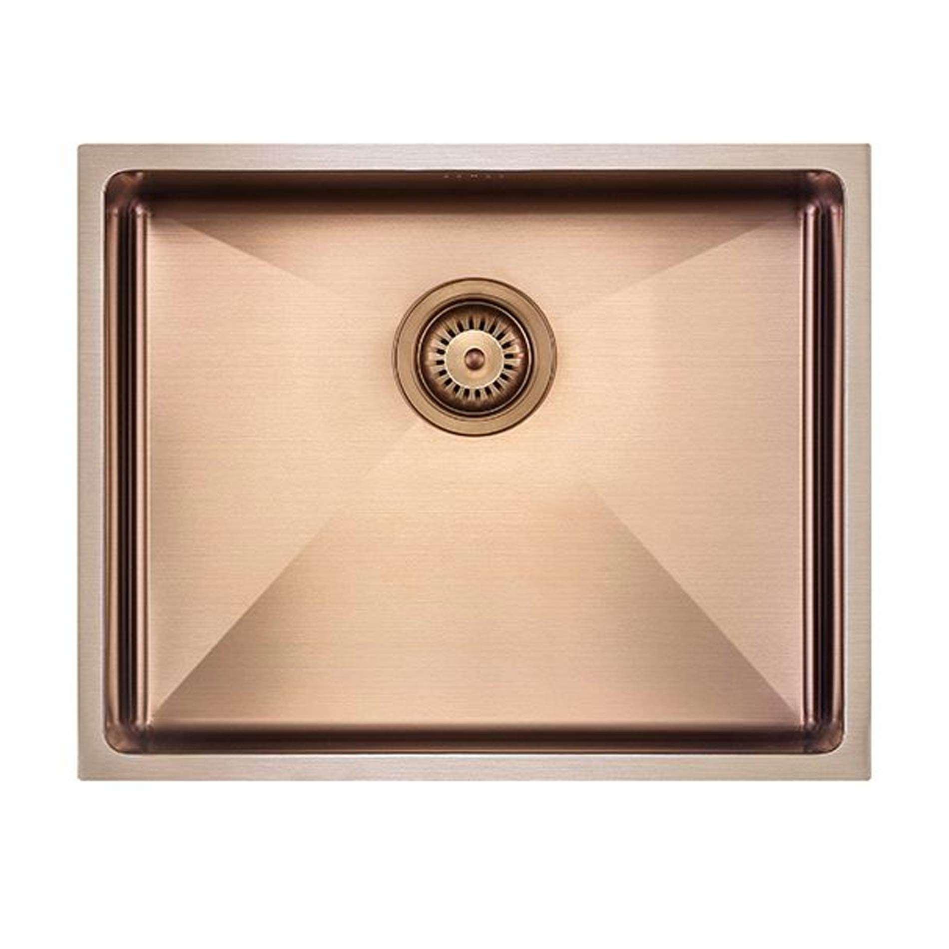 The 1810 Company Zenuno15 500 U Copper Sink Kitchen