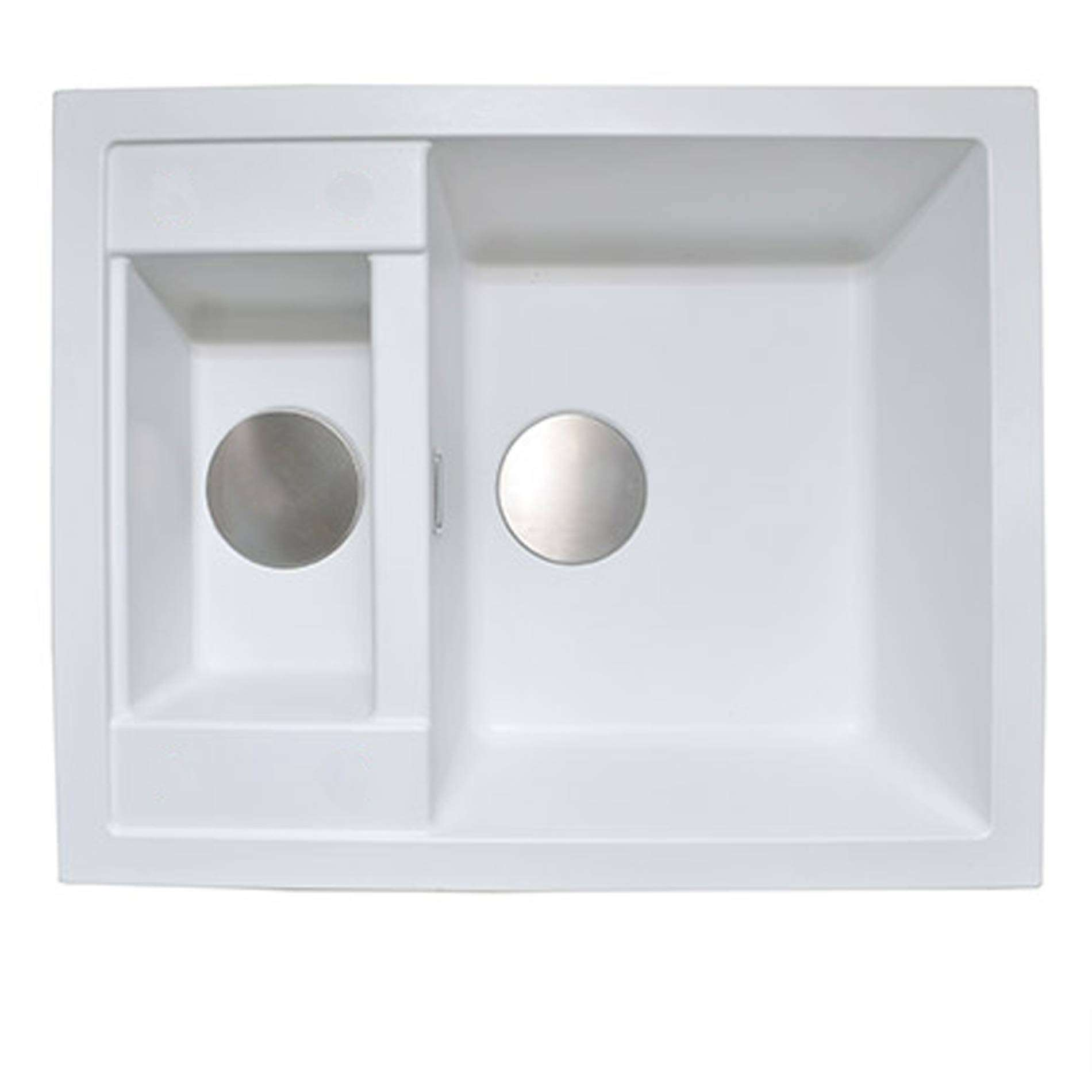 Picture of Shardduo 615i Polar White Sink