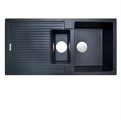Picture of The 1810 Company: Shardduo 150i Metallic Black Sink