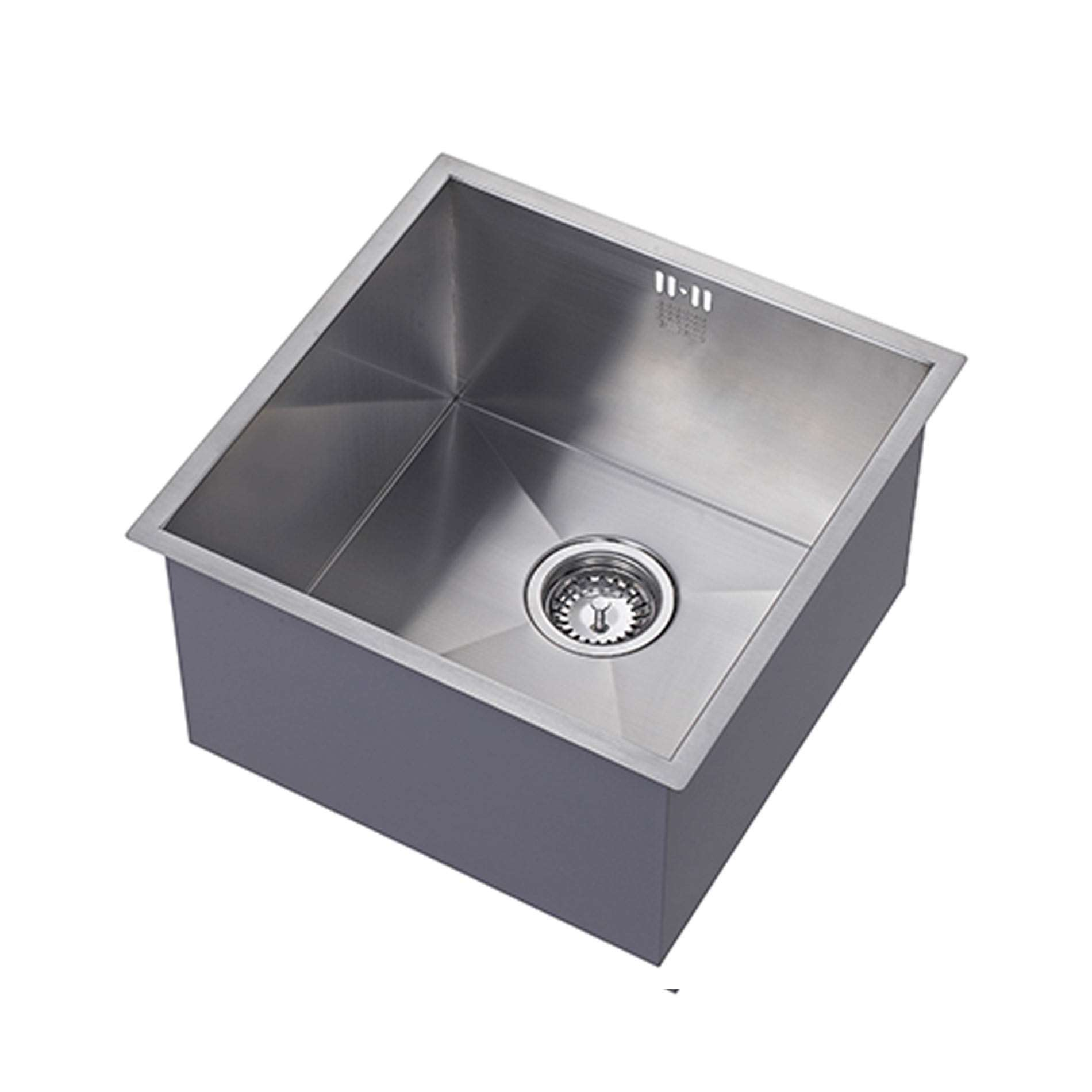 Picture of zenuno 400u deep stainless steel sink