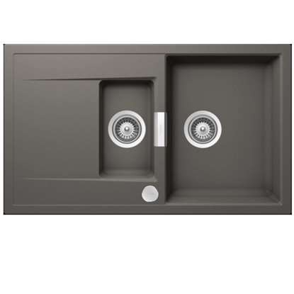 Picture of Schock: Mono MON D 150 Silverstone Granite Sink