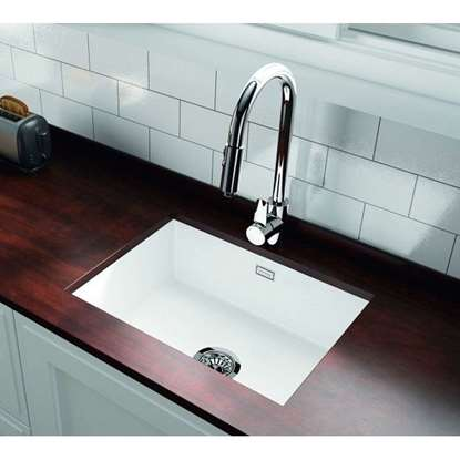 Picture of Thomas Denby: Metro 1050 White Ceramic Sink
