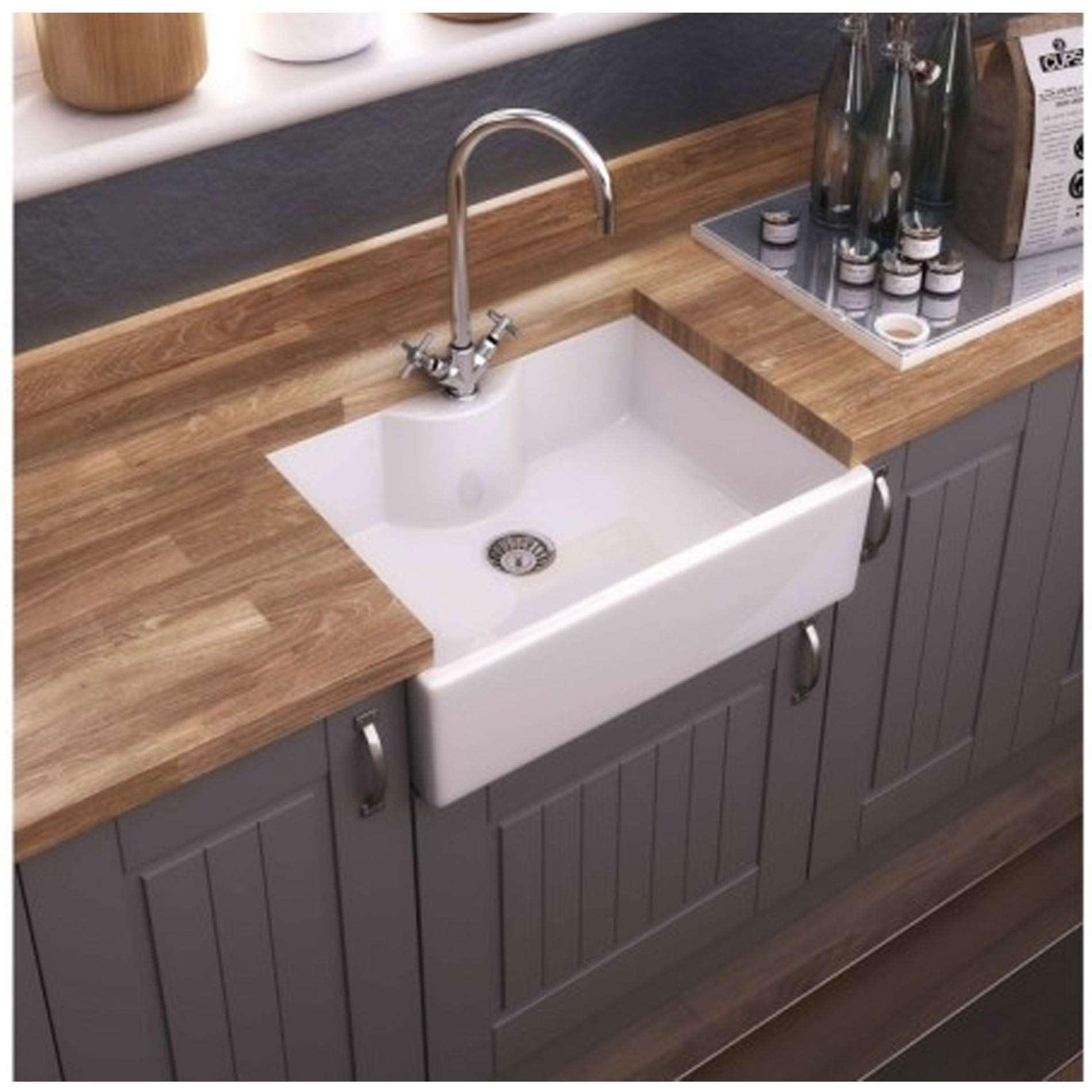 Thomas Denby Legacy 600t Ceramic Sink Kitchen Sinks Taps