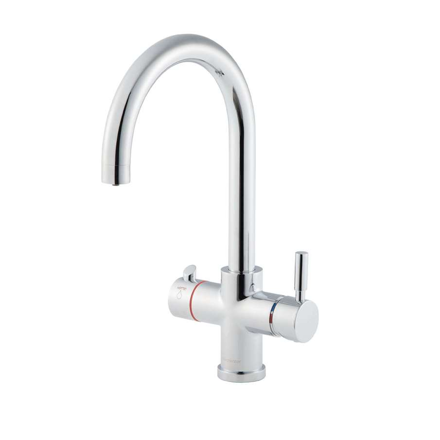 Clearwater Maestro Chrome C Spout 3 In 1 Tap Kitchen