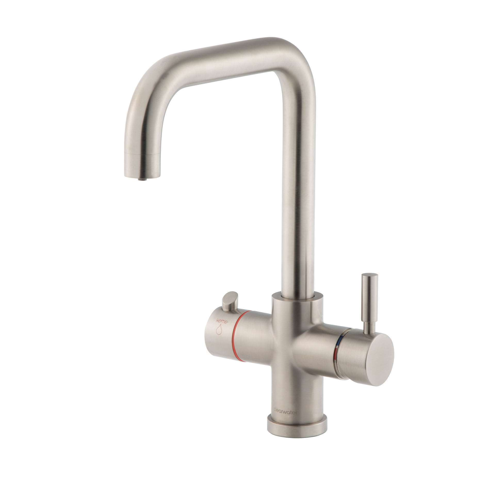 Picture of Maestro Brushed Nickel U Spout 3 In 1 Tap